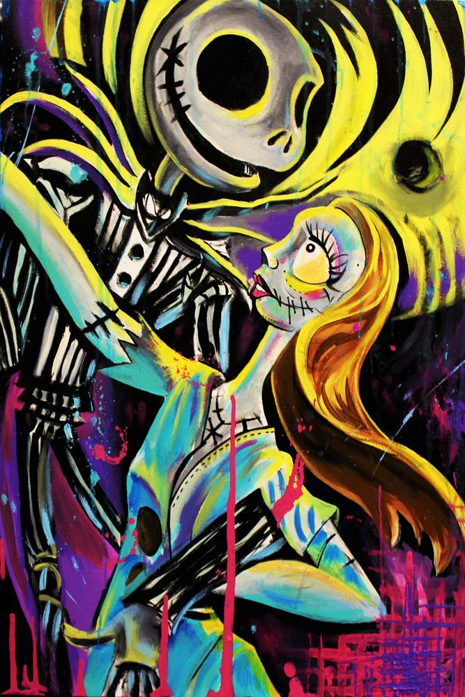 Jack Nightmare Before Christmas | ... of Limited Edition! Nightmare Before Christmas, Jack & Sally Upclose