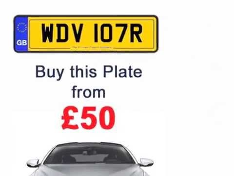 Hide the age of your cars with cheap private registration number plates.