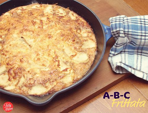 ABC Frittata (Apple, Bacon, Cheddar) | Breakfast & Brunch | Pinterest