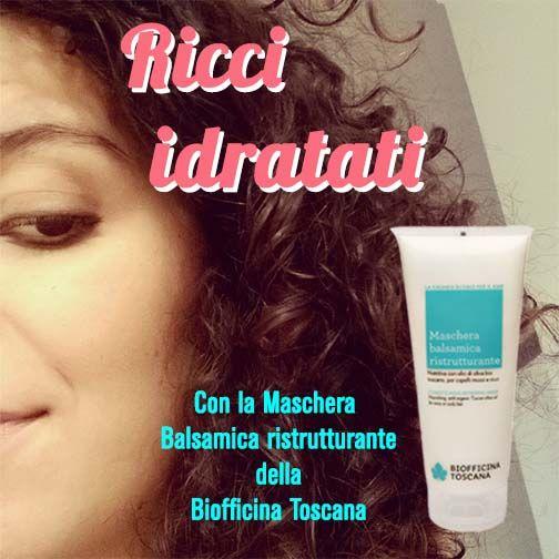 A tutte quelle che hanno i capelli ricci o crespi o secchi, Mi hanno salvato i prodotti Biofficina Toscana, in questo momento sto usando la maschera balsamica ristrutturante, e dal primo lavaggio ha gia fatto miracoli! Bacioni! #biofficinaToscana #naturalbeauty #vegancosmetics