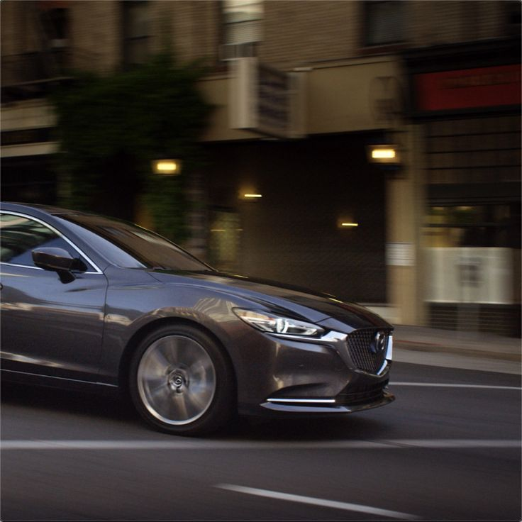 With elegant accents added to uplift, the Mazda6 is