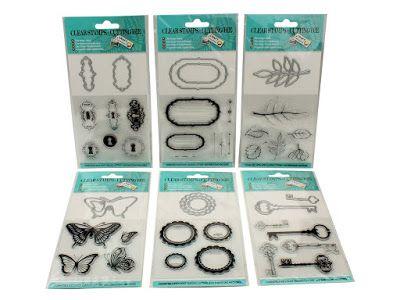 Hobby Alternatief: Craft Sensations Clear Stamps & Cutting dies - apr...