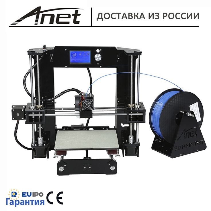 235.60$  Watch now - http://alioi6.shopchina.info/1/go.php?t=32813942053 - 2017 original Anet 3D printer New prusa i3 reprap Anet A6 black/SD card plastic as gifts/express shipping from Moscow werehouse 235.60$ #buyonline