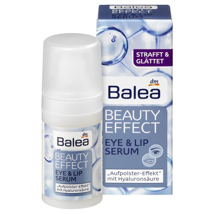 Balea Beauty Effect Eye & Lip Serum, 15ml