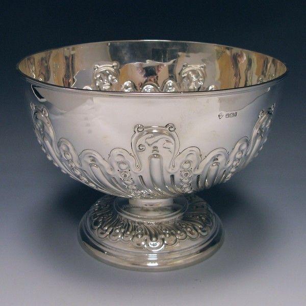OnlineGalleries.com - Antique Silver Bowl