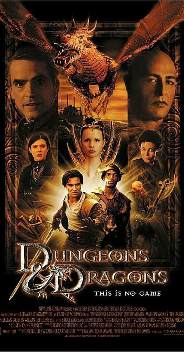 Dungeons and Dragons movie poster