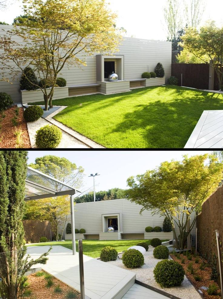 M s de 25 ideas incre bles sobre patio trasero inclinado - Plantas para jardin exterior ...