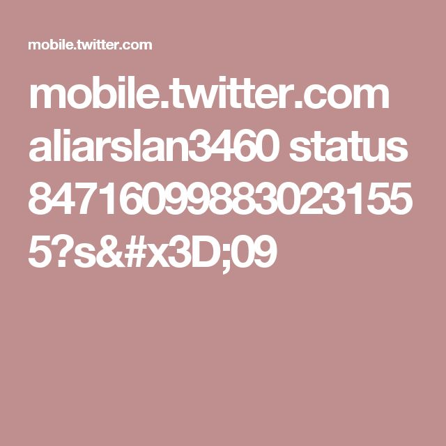 mobile.twitter.com aliarslan3460 status 847160998830231555?s=09