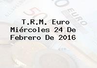 http://tecnoautos.com/wp-content/uploads/imagenes/trm-euro/thumbs/trm-euro-20160224.jpg TRM Euro Colombia, Miércoles 24 de Febrero de 2016 - http://tecnoautos.com/actualidad/finanzas/trm-euro-hoy/trm-euro-colombia-miercoles-24-de-febrero-de-2016/