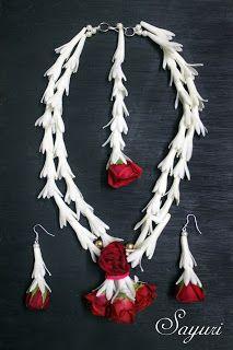 Tuberose jewellery for haldi