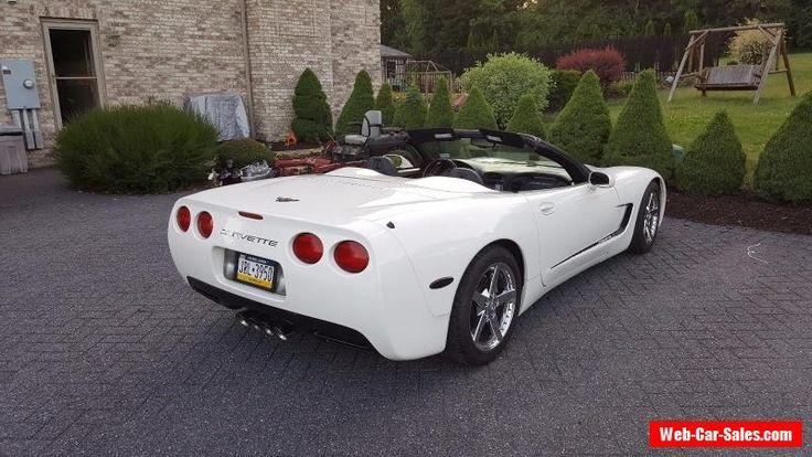 2002 Chevrolet Corvette Convertible C5 #chevrolet #corvette #forsale #unitedstates