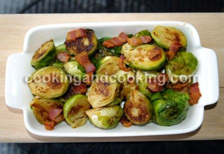 Brussels Sprouts with Bacon Recipe, Brussels Sprouts Recipe | Cooking and Cooking