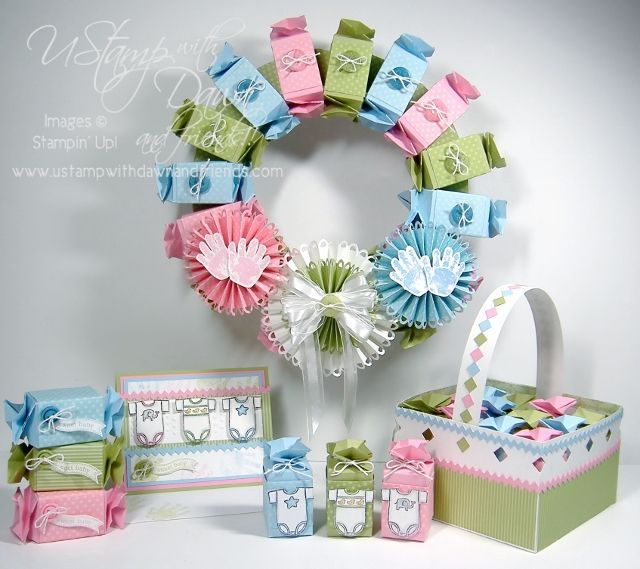 Sweet Baby Candy Wrappers by lisa foster - Cards and Paper Crafts at Splitcoaststampers
