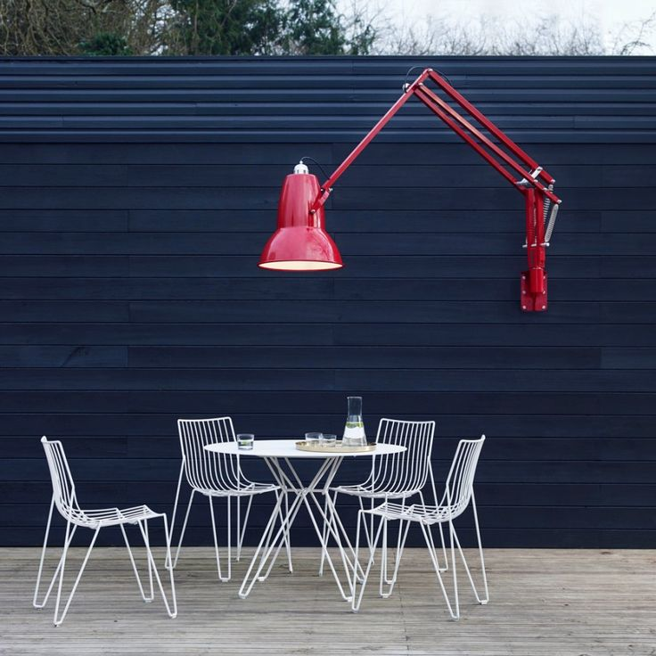 Our Original 1227™ Outdoor Giant wall mounted lamp has all the impact and unrivalled functionality of its floor-standing sibling, but with added flexibility, courtesy of a clever articulated arm. Space saving and discreet when tucked back against a wall, this highly durable lamp takes centre stage when stretched out to illuminate an outdoor space.Please note that this product is built to order in the UK with a lead time of 6-8 weeks. For custom colours and finishes, please contact…