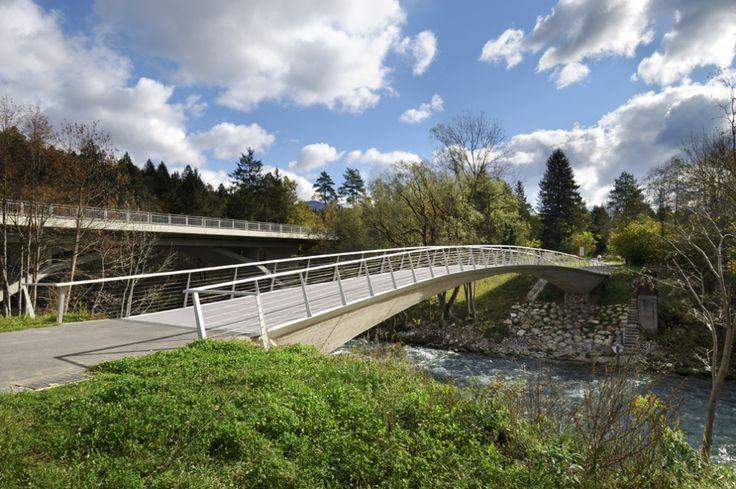 ARHITEKTURA DOO » » sava footbridge
