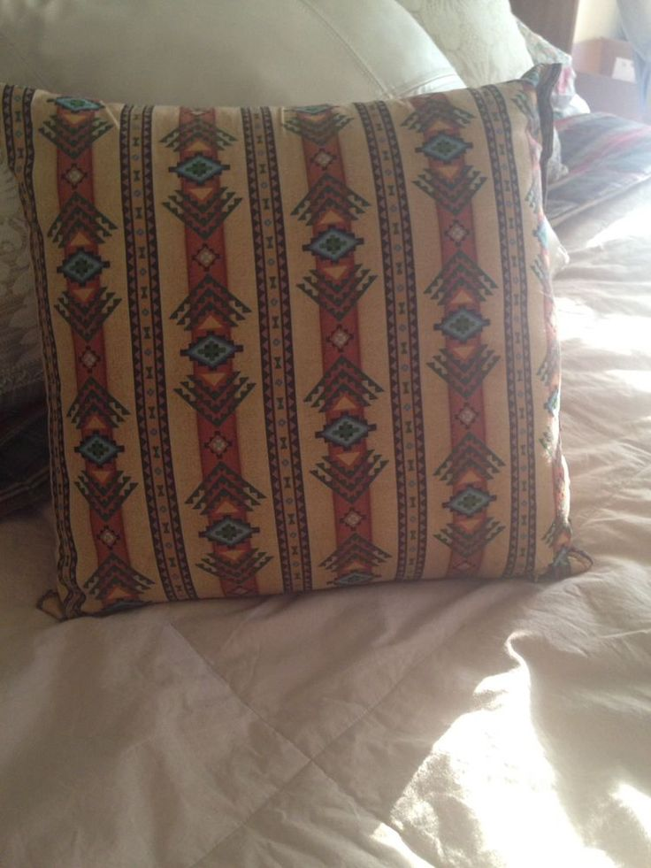 25+ best ideas about Southwestern bed pillows on Pinterest Southwestern beds and headboards ...