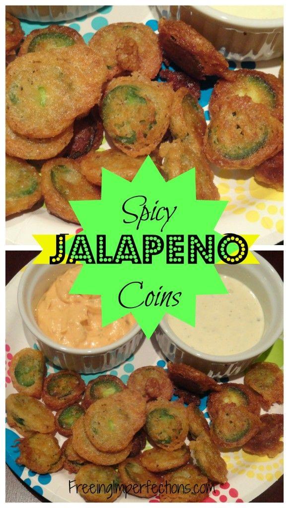 "Spicy Jalapeno ""Bottle Caps"""