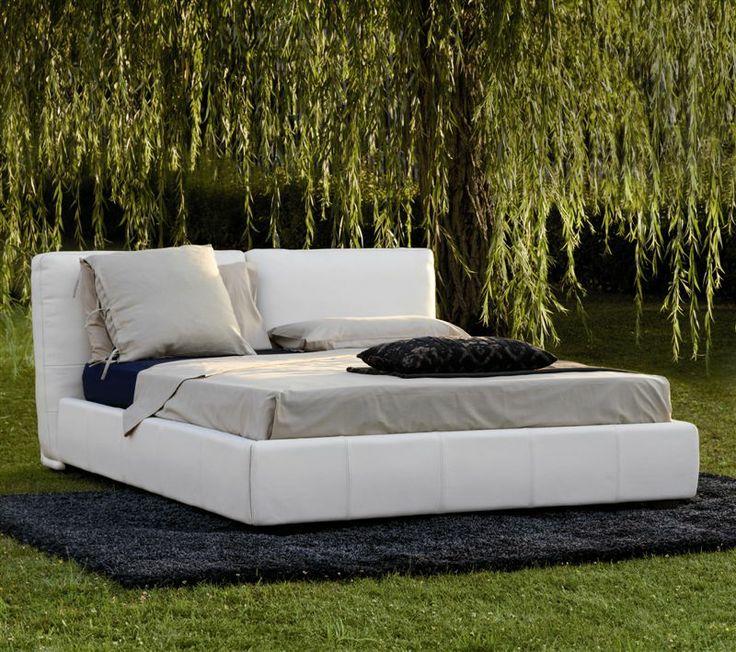 Falegnameria 1946 letto roxanne un design moderno ed elegante caratterizzato da testate di - Parti di un letto ...