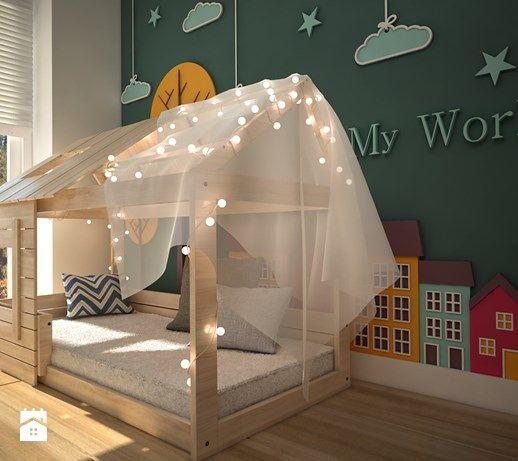 pokój zabaw - Średni pokój dziecka dla chłopca dla dziewczynki dla malucha, styl skandynawski - zdjęcie od WNĘTRZOMANIA