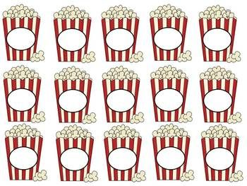 Editable Popcorn Theme