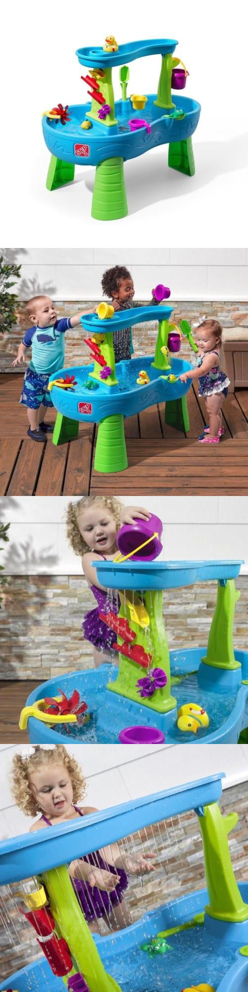 Step 2 52344: New Rain Showers Splash Pond Water Table Playset -> BUY IT NOW ONLY: $66.98 on eBay!