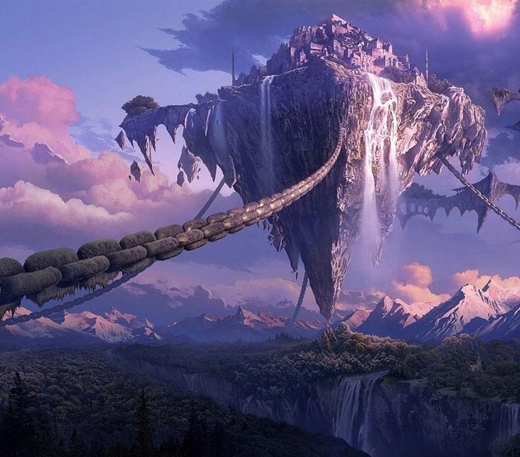 Fantasy Landscape Wallpaper: Best 5635 Fantastic Worlds Images On Pinterest