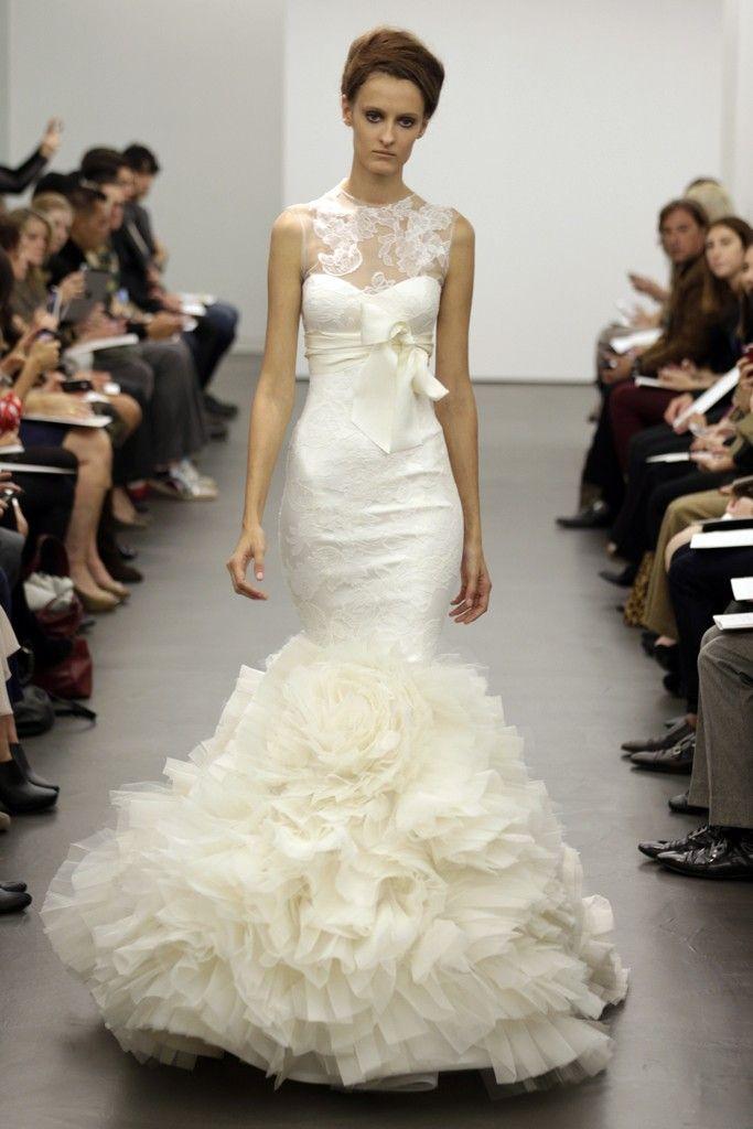 Simple Vera Wang Bridal Fall