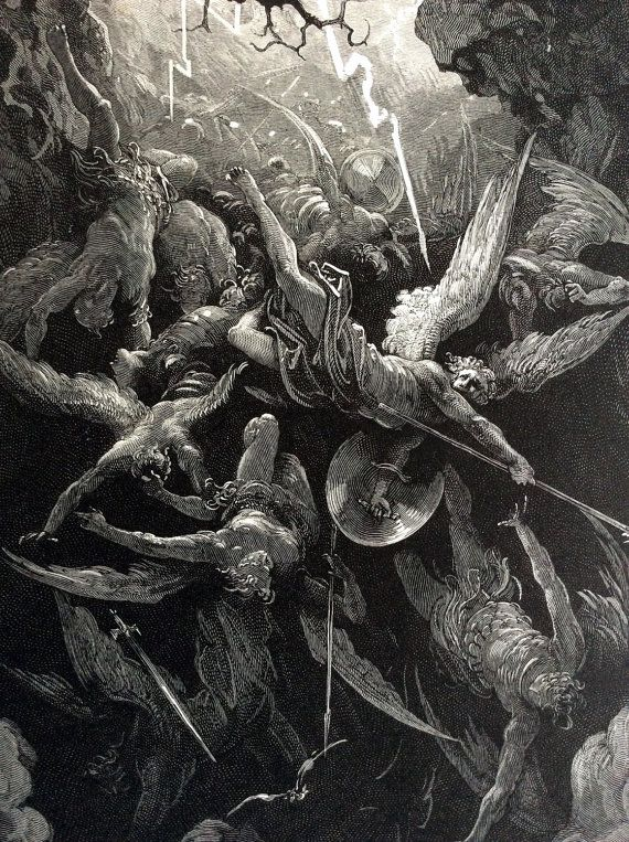 revolt of satan in paradise lost Jessica martin: how to believe: satan is the great salesman of paradise lost, who can talk his way past everyone - except himself.