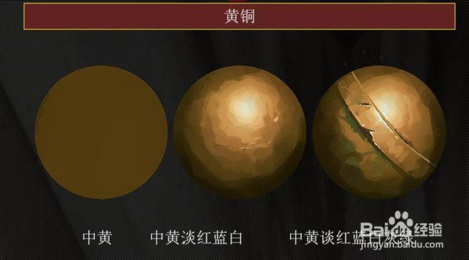 Brass, it began to darken the background. Brass greenish oxidation.