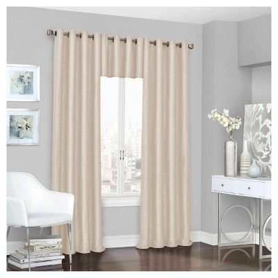 "Presto Thermalined Window Valance Ivory (52""x18"") - Eclipse"