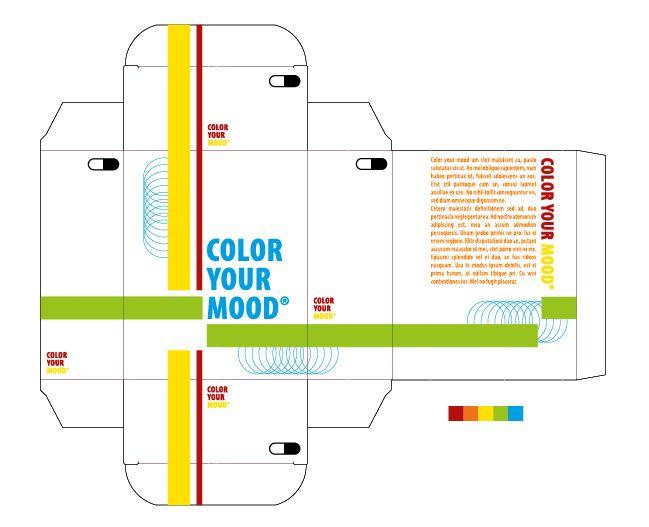 Energiek: nr.3 van de 3 beste kleurpaletten mits aanpassingen. Bij het woord energie denk ik aan veel beweging en activiteit. Dit wordt weergegeven met felle kleuren en vele contrasten. De grote vlakken heb ik wit gelaten om voor nog meer contrast te zorgen.