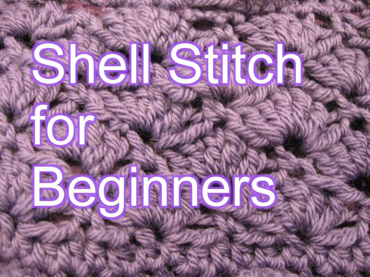 Knit Stitch Slow : Best 25+ Crochet shell stitch ideas on Pinterest Crochet shell blanket, Tut...