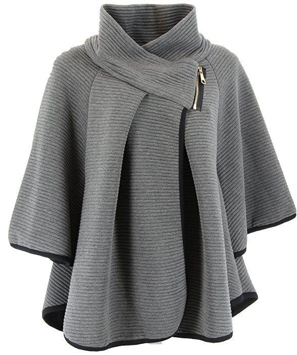 charleselie94 cape veste manteau ample grande taille 38. Black Bedroom Furniture Sets. Home Design Ideas
