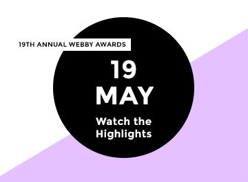 Webby Awards-the most imp awards on the internet..