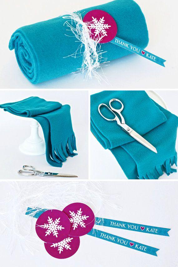 cute party favor idea for Frozen party