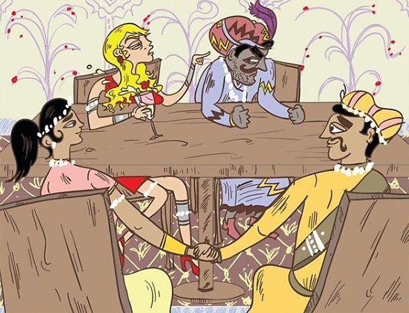 Όλο και κάποια ματιά θα έχετε ρίξει στο γνωστό, ερωτικό εγχειρίδιο Kama Sutra. Αυτήν όμως την παραλλαγή του γνωστού βιβλίου με σκίτσα «στάσεων» ειδικά για παντρεμένα ζευγάρια, σίγουρα δεν την έχετε ξαναδεί!