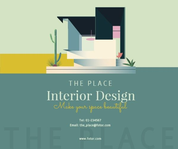 The Place Interior Design Business And Marketing Facebook Post