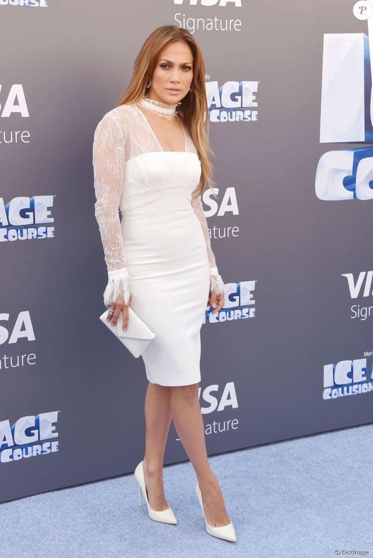 Jennifer Lopez lors de la première de Ice Age: Collision Course. Los Angeles, le 16 juillet 2016