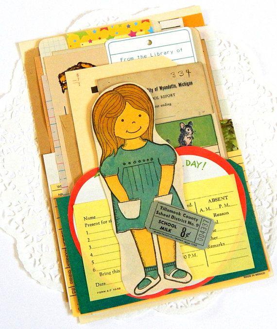 Best writing paper vintage school