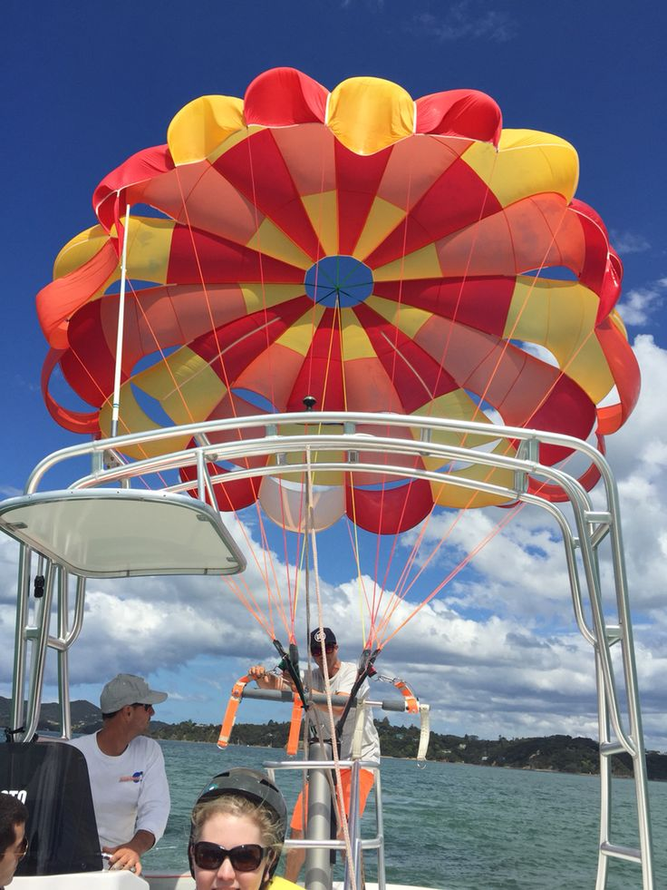 Parasailing in the Bay Of Islands