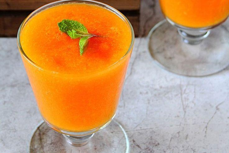 Смузи: морковь, имбирь и куркума! Мощный омолаживающий эффект