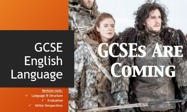 Gcse english language essay writing