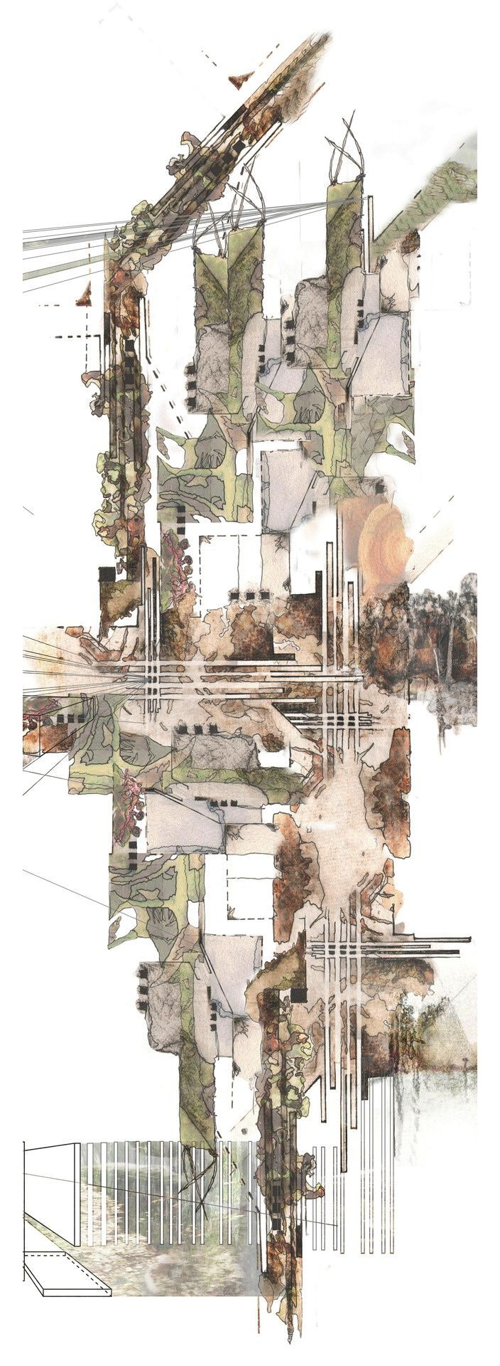 1238 best land and cityscapes images on pinterest for Landscape architect drawing