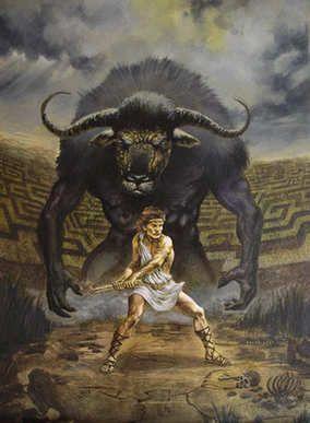 Resultado de imagen para heroe griego teseo