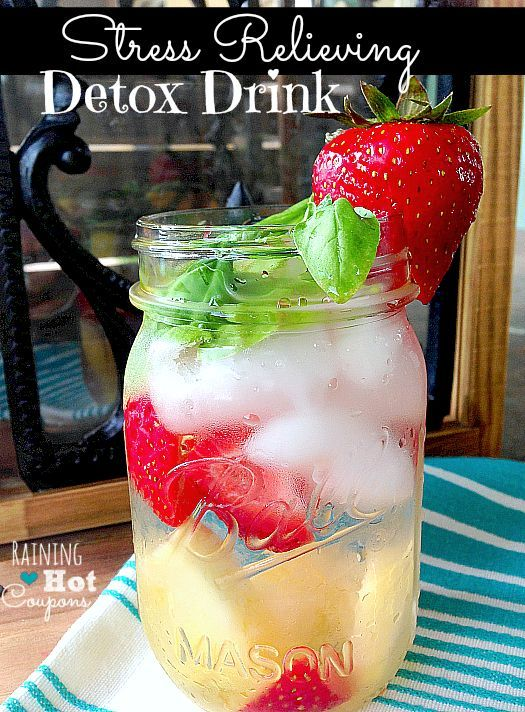 Miraculous Stress Relieving Detox Drink