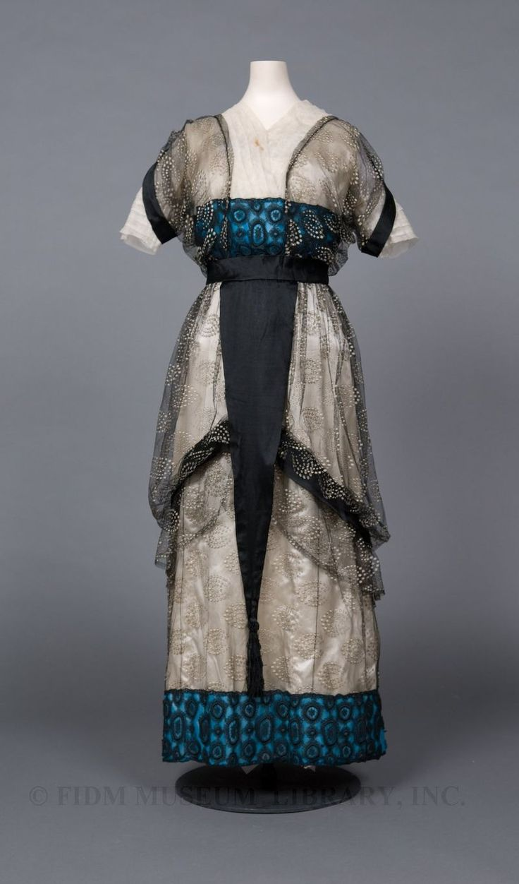 c1910 FIDM When I have time, I'll find the accession # etc.