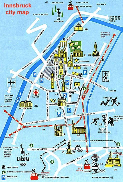 Innsbruck map http://www.lj.travel/home.cfm #legendaryjourneys