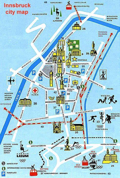 Innsbruck map http://www.lj.travel/home.cfm #legendaryjourneys