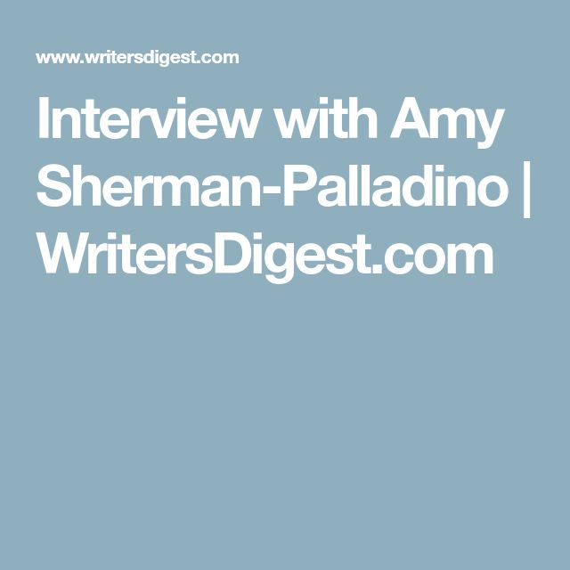 Interview with Amy Sherman-Palladino | WritersDigest.com