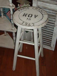 Paris stool. For the kitchen